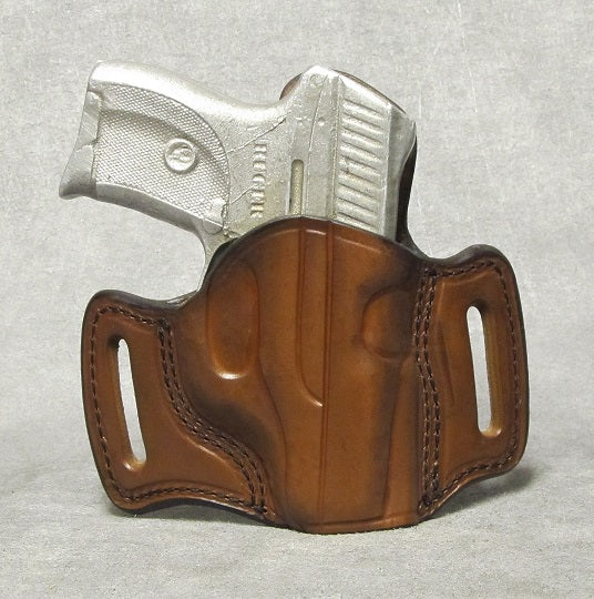 Ruger LC9 (LaserMax) Leather Pancake Holster - Brown