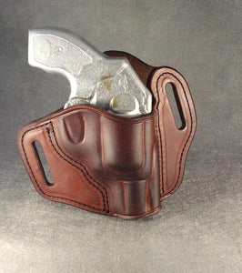 Kimber K6s OWB Pancake Leather Holster