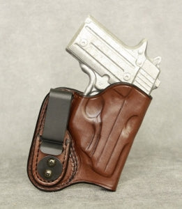 Sig Sauer P238 IWB (with Crimson Trace) Leather Holster