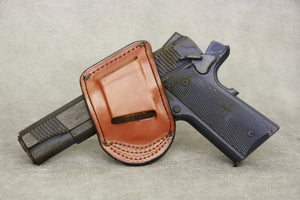 1911 Under the Belt Leather Gun Holster