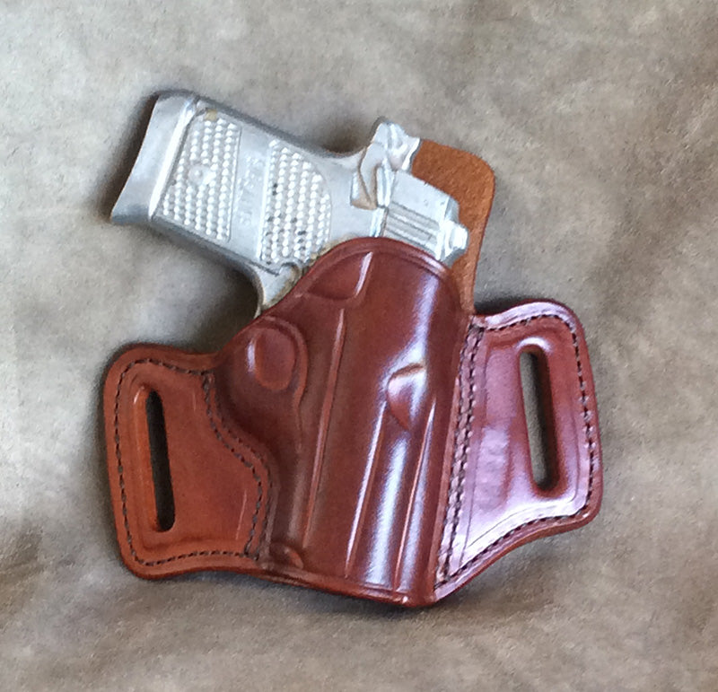 Sig Sauer P938 Leather Pancake Holster - Brown