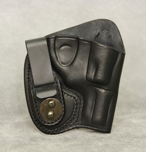 Ruger LCR IWB Leather Holster - Black