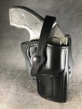 "Kimber K6s OWB 3"" Leather Paddle Holster"