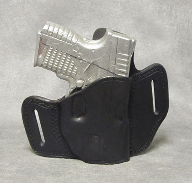 Springfield XDs (Crimson Trace) Leather Pancake Holster