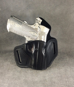 Sig Sauer 1911 OWB Two Slot Pancake (TSP) Leather Holster