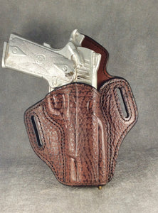 1911 Commander OWB Pancake Holster Shark