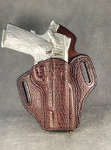 1911 Full Size OWB Custom Shark and Leather Pancake Holster