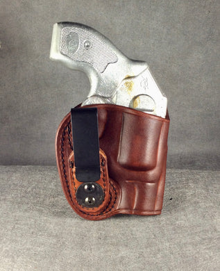 Kimber K6s IWB Concealed Tuckable Custom Leather Holster