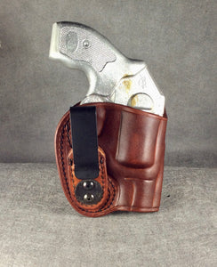 Kimber K6s IWB Concealed Tuckable Leather Holster