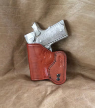 "1911 IWB Concealed Tuckable 3"" Micro-Compact/Officers Model Custom Leather Holster"