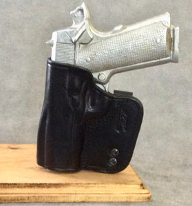 1911 Commander IWB Concealed Tuckable Leather Holster