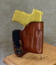 Sig Sauer P365 Lima 365 Laser IWB Concealed Tuckable Leather Holster