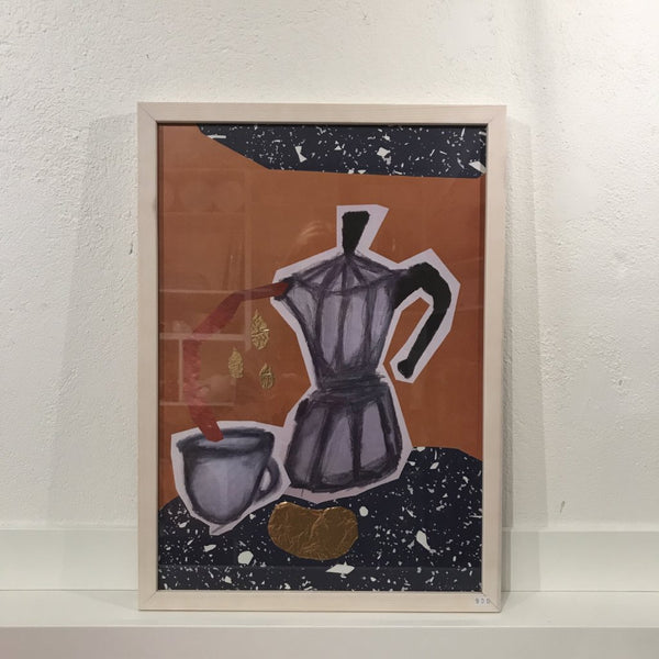 Marie Willumsen - collage, espresso
