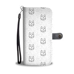 Awesome Cats Wallet Phone Case