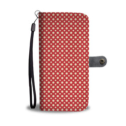 Awesome Polka Dots Wallet Phone Case