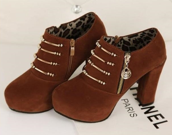 Ankle Boot feminina - House of Quirky 64226 (IMPORTADO)