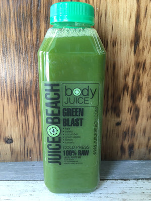 Individual Raw Cold Press: Green Blast