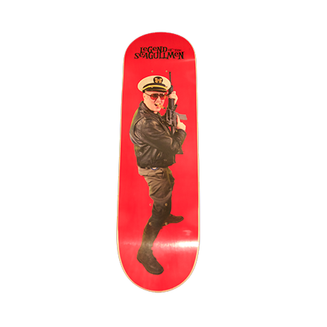 RIDE THE ADMIRAL SKATEBOARD