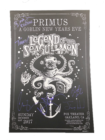 NYE LIMITED EDITION SIGNED/NUMBERED POSTER