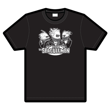 SEAGULLMEN HEADS SHIRT