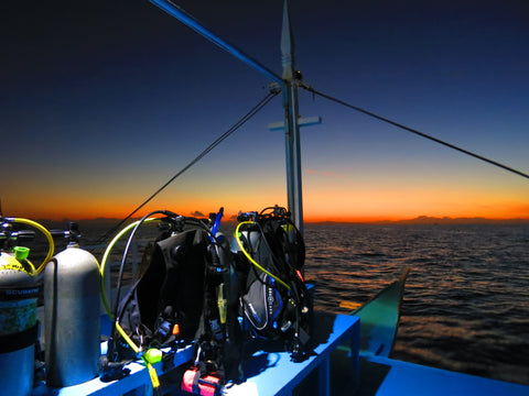 Early morning mood at Malapascua Island, Philippines before the Thresher Shark dive. Picture Taken by Camille Lemmens.