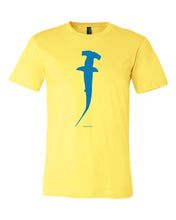 Load image into Gallery viewer, Blue Hammerhead Shark T-shirt