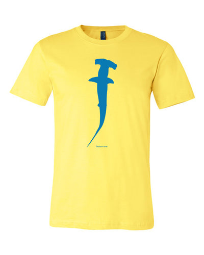 Blue Hammerhead Shark T-shirt