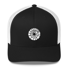 Load image into Gallery viewer, White Logo Trucker Cap