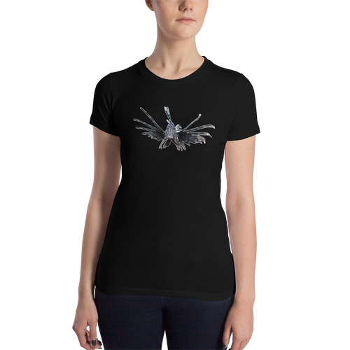 Women's Lionfish Portrait T-Shirt