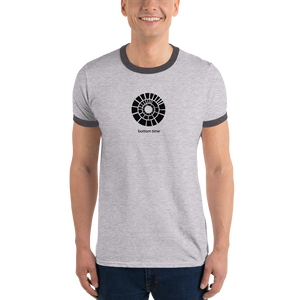 Bottom Time Logo Ringer T-Shirt