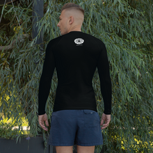 Load image into Gallery viewer, Men's Manta Ray Rash Guard Black