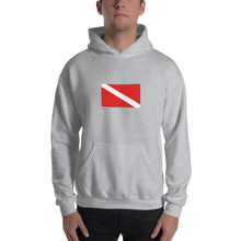Load image into Gallery viewer, Classic Dive Flag Hoodie
