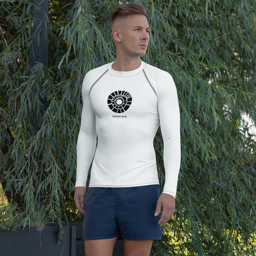 Men's Bottom Time Logo Rash Guard