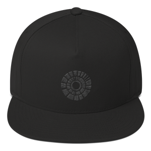 Bottom Time Black Logo Hat