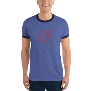 Dive, Eat, Sleep, Repeat - Dive Flag Ringer Tee