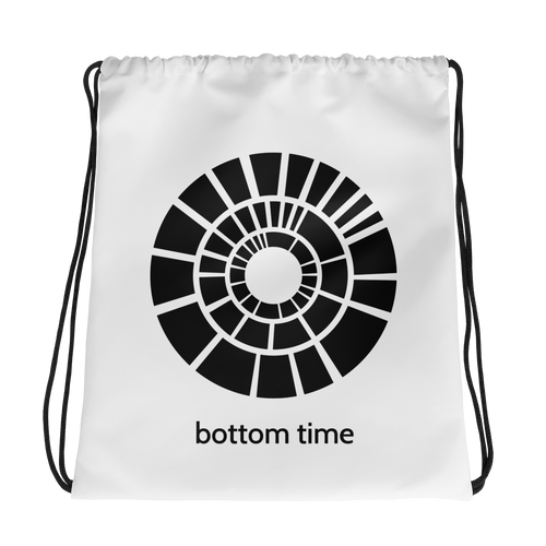 Bottom Time Drawstring Bag