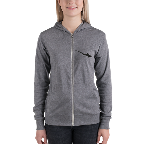 Thresher Shark Zip Hoodie (lightweight)