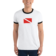 Load image into Gallery viewer, Dive Flag Ringer Tee