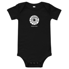 Load image into Gallery viewer, White Bottom Time Logo Baby Suit