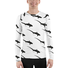 Load image into Gallery viewer, Men's Thresher Shark Rash Guard