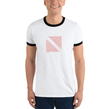 Load image into Gallery viewer, Dive, Eat, Sleep, Repeat - Dive Flag Ringer Tee