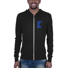 Load image into Gallery viewer, Alpha Flag Zip Hoodie (lightweight)