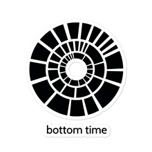 Load image into Gallery viewer, Bottom Time Logo Sticker