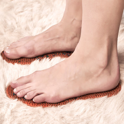 ACUPUNCTURE INSOLES FOR FOOT MASSAGE AND SPECIAL THERAPY (SMALL)