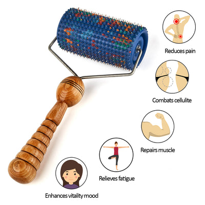 BIG ROLLER ACUPUNCTURE SELF MASSAGER