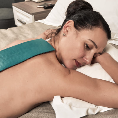Acupuncture mat QUADRO for back pain relief