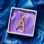 Letter Necklace / A