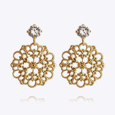 Andrea Earrings / Crystal