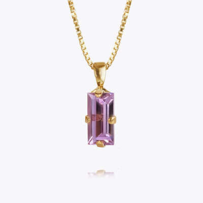 Baguette Necklace / Violet