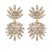 Caroline Svedbom - Cina Earrings Crystal Gold